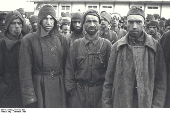 Οκτώβριος 1941: Σοβιετικοί αιχμάλωτοι στο Μάουτχάουζεν - Bundesarchiv, Bild 192-100 / CC-BY-SA